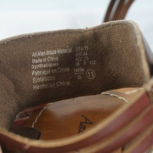 American Eagle By Payless Shoes - American Eagle Wedge Sandals Size 11
